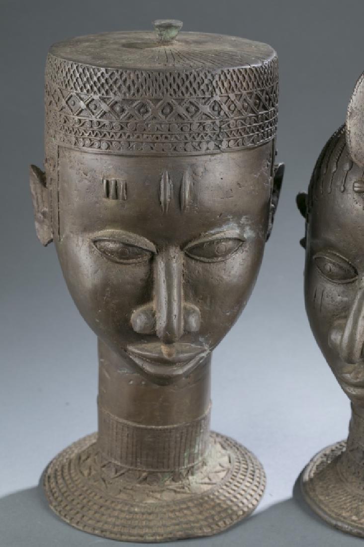 4 Nigerian Brass objects. c.20th century. - 9
