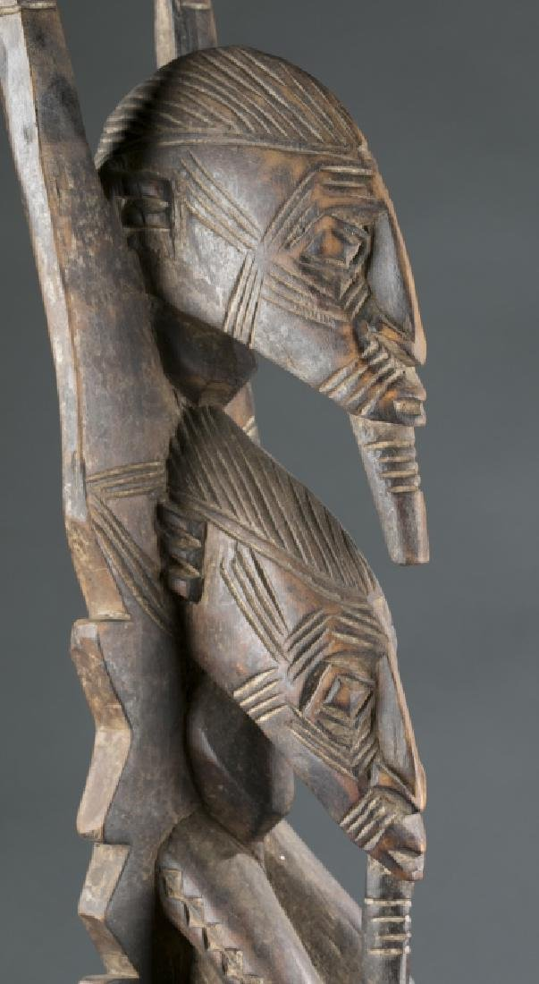 4 West Africa style figures. c.20th century. - 8