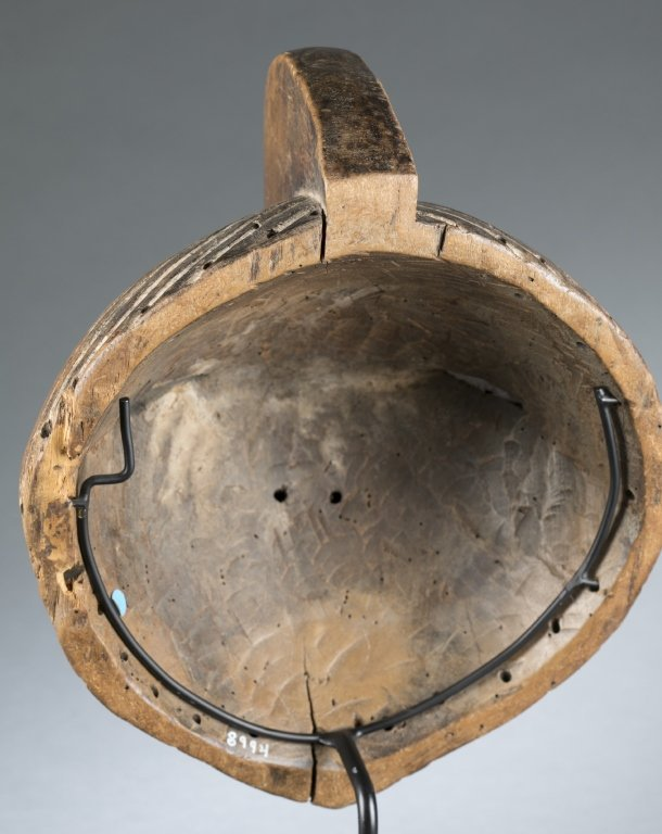 Songye style round mask. c.20th century. - 4