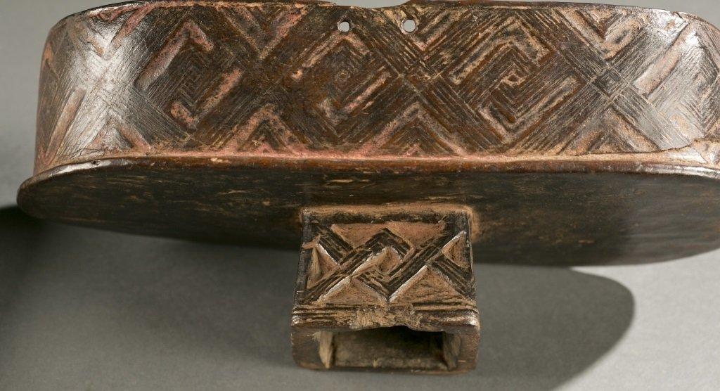 Kuba lidded box, 20th c. - 4