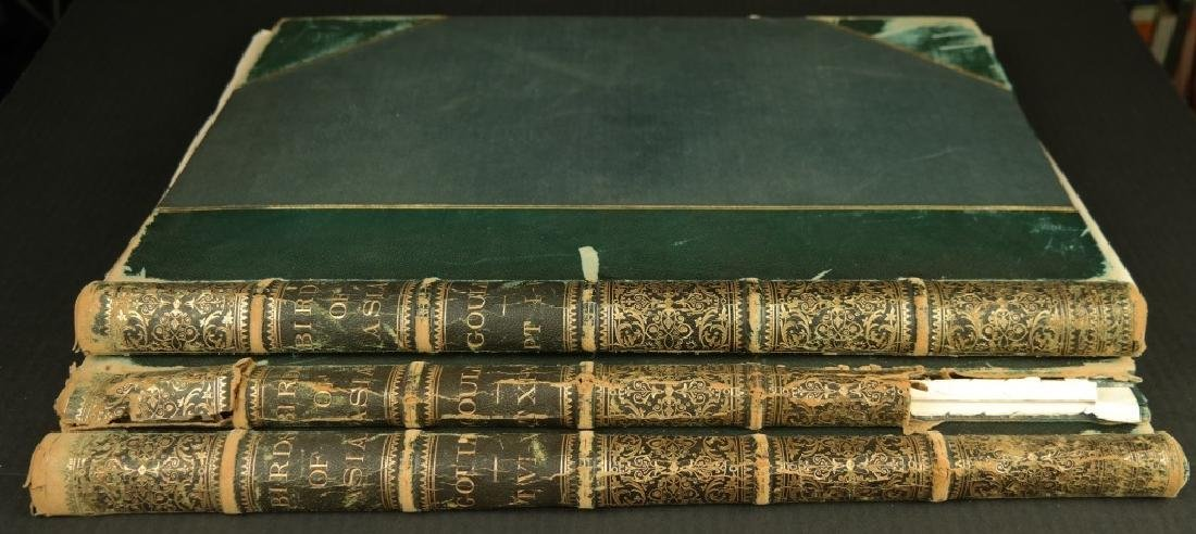 Gould. The Birds of Asia, bindings only. 3 vols.