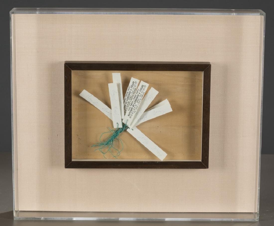 Joseph Beuys, Unique piece labels.