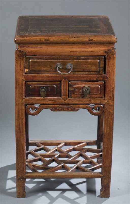 Chinese Side Table.Chinese Side Table With Drawers
