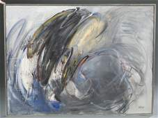 Merton Simpson, Untitled. o/c. 1985