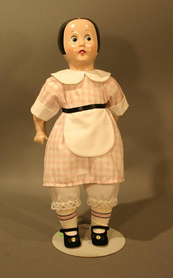 "601: Horsman ""Ella Cinders"" Doll 17.5"" tall."