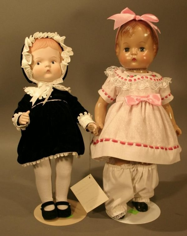 """603: Effanbee Rubber anniversary doll, 16"""" and 60"""