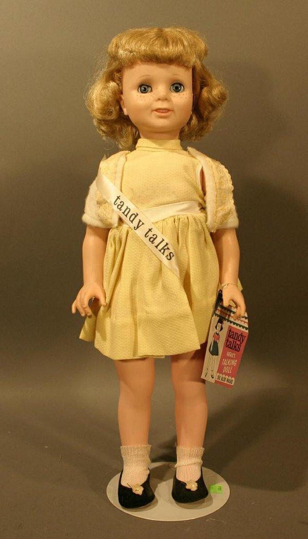 "610: Eegee Tandy Talks Doll, 55"" tall."