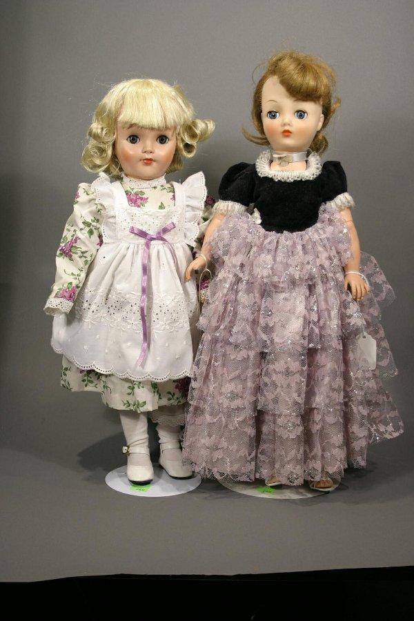 622: Two plastic dolls, circa 1960; 1; Horsman soft pla