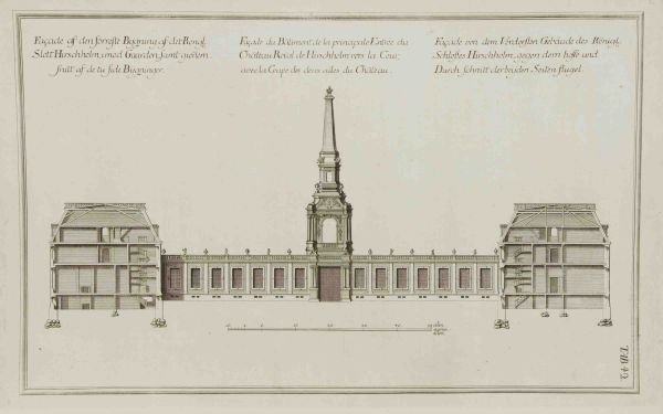 2: 10 engravings of cathedrals, etc. (Ca. 1700s).
