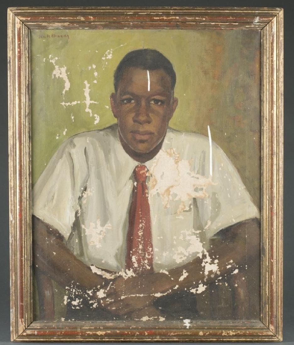 Portrait of Merton Simpson.