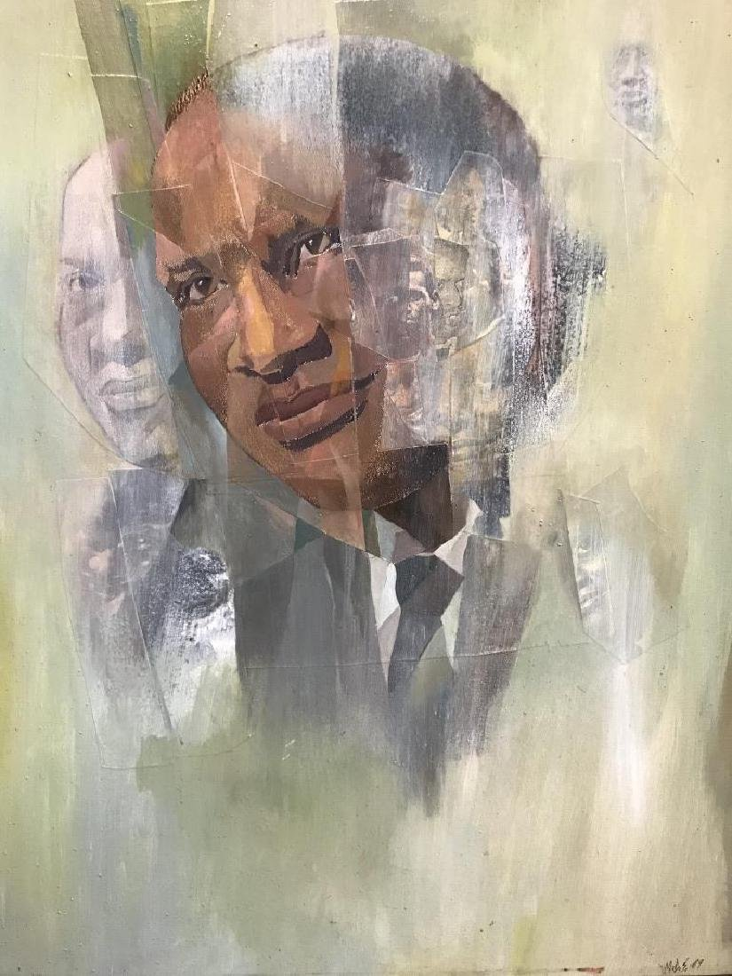 Portrait of Paul Robeson (Singer & Activist).