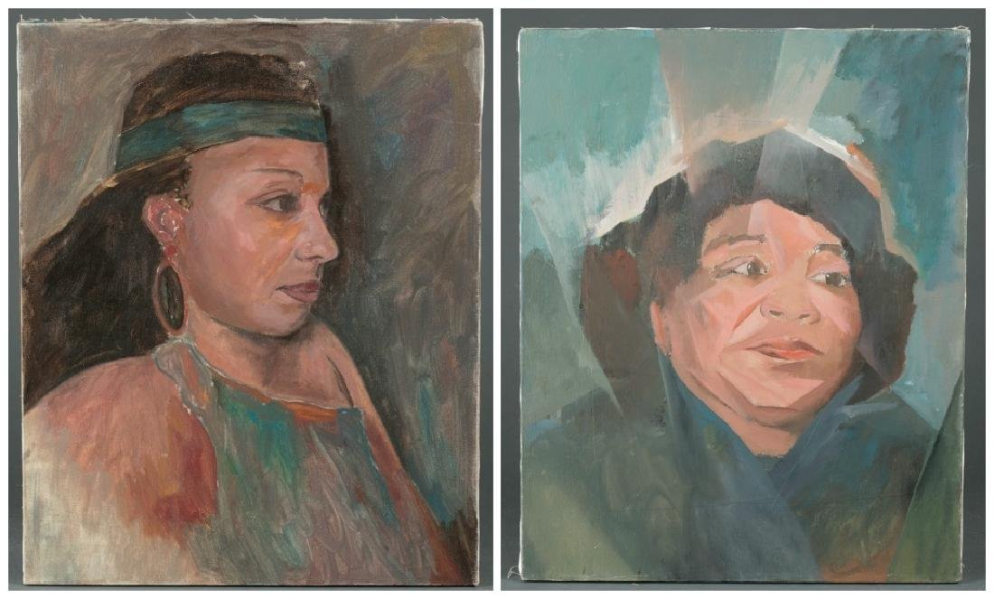 Two portraits of Women.