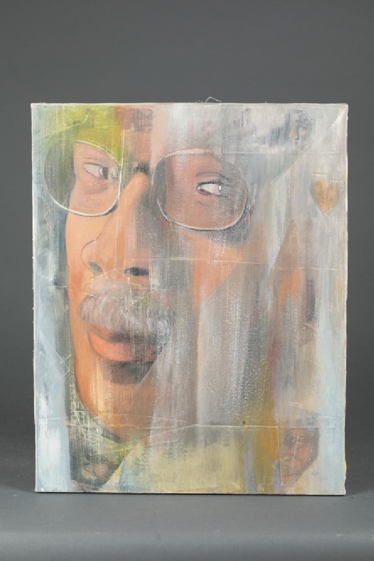 "Portrait of ""The Man""."