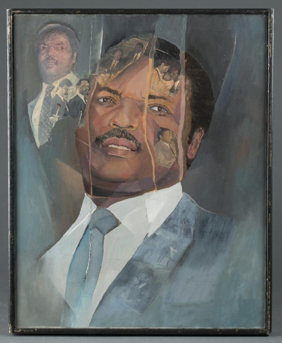 Portrait of Jesse Jackson (Activist).