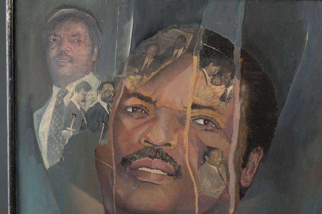 Portrait of Jesse Jackson (Activist). - 2