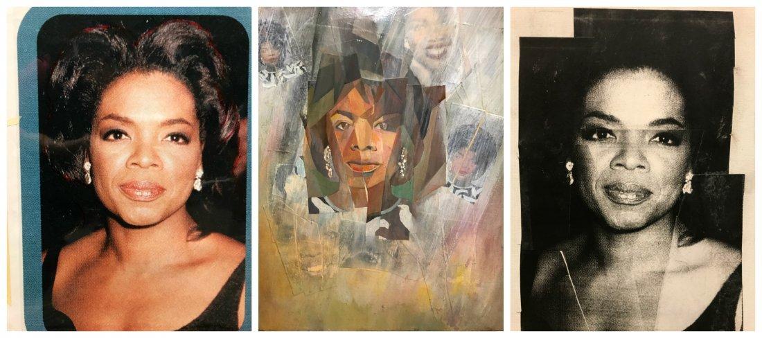 Three Portraits of Oprah Winfrey.
