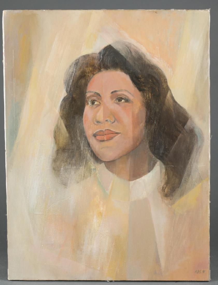 """Portrait of """"La Reine""""."""