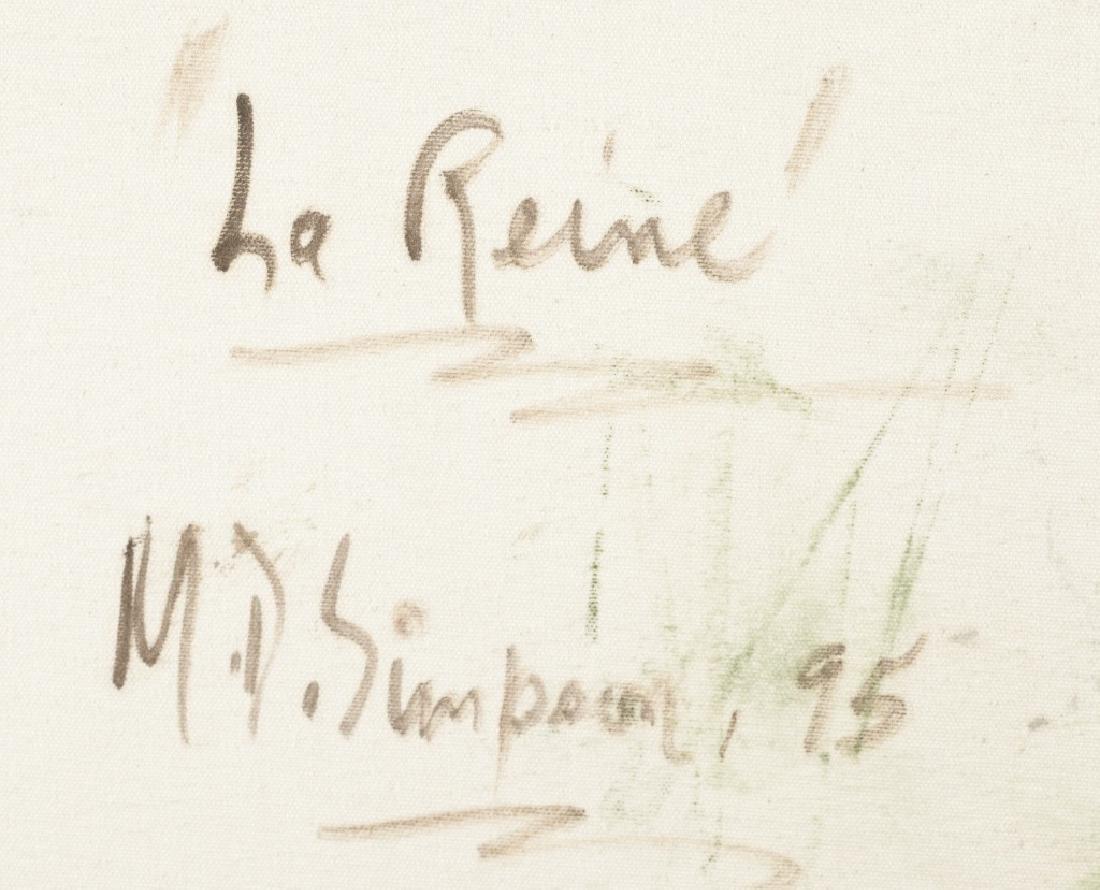 """Portrait of """"La Reine"""". - 4"""
