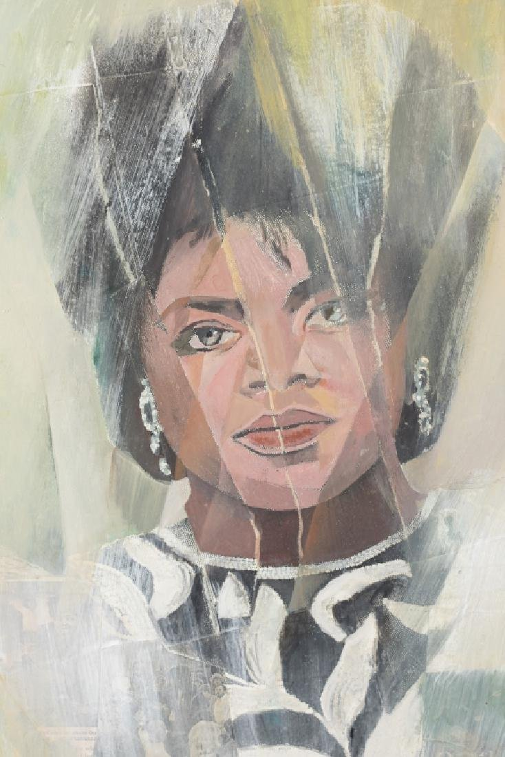 Portrait of Oprah Winfrey (Media Proprietor) . - 2