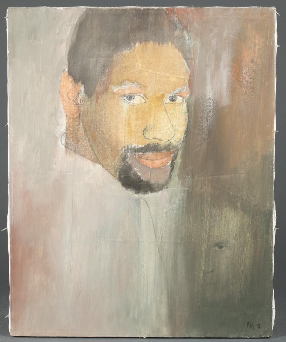 Portrait of Denzel Washington (Actor).