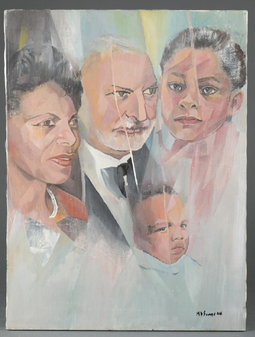 Portrait of Unknown Family.