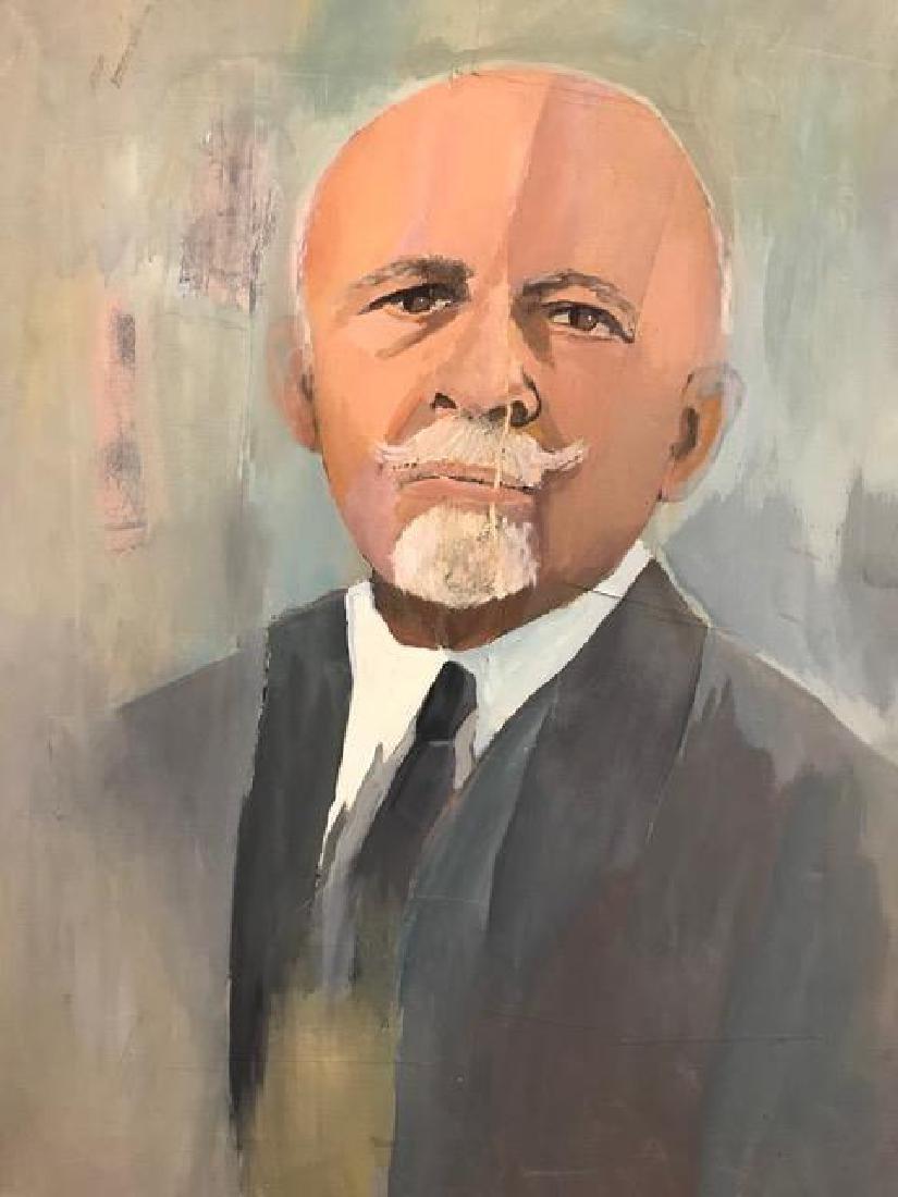 Portrait of W.E.B. Du Bois.