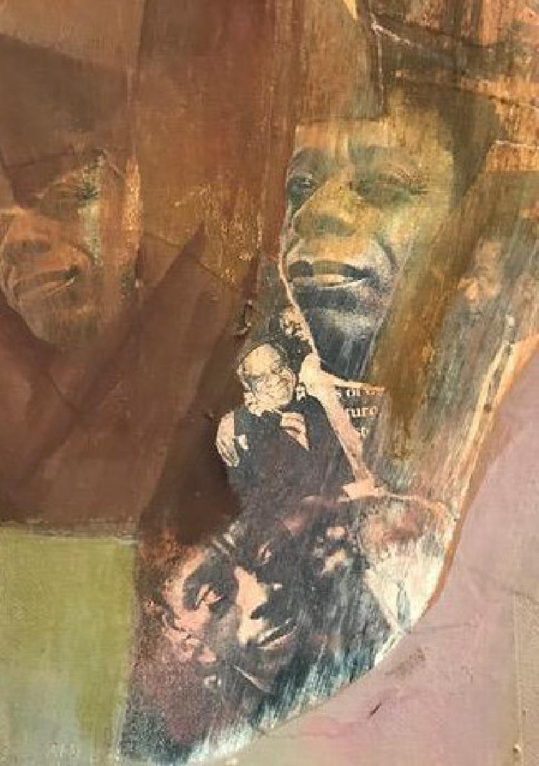 Portrait of James Baldwin (Novelist & Activist). - 2