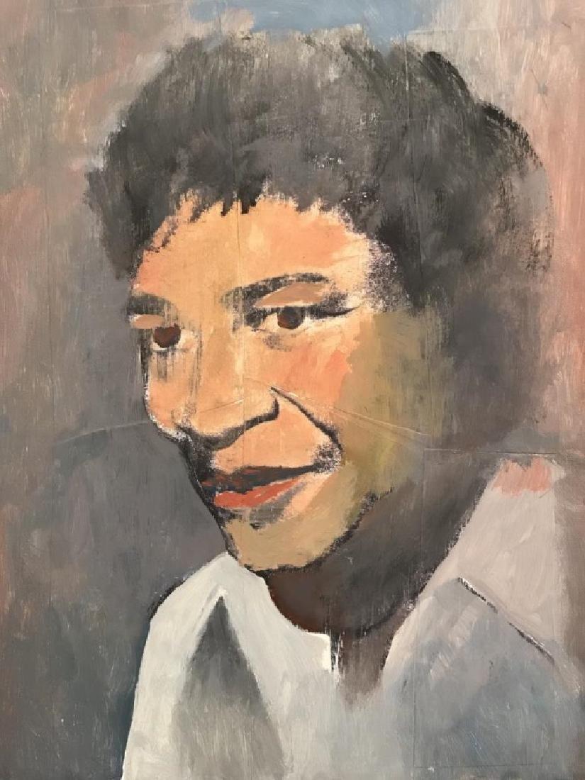 Portrait of Ella Fitzgerald (Singer).