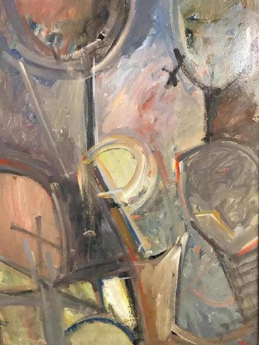 Two Abstract Figurative Paintings. - 3