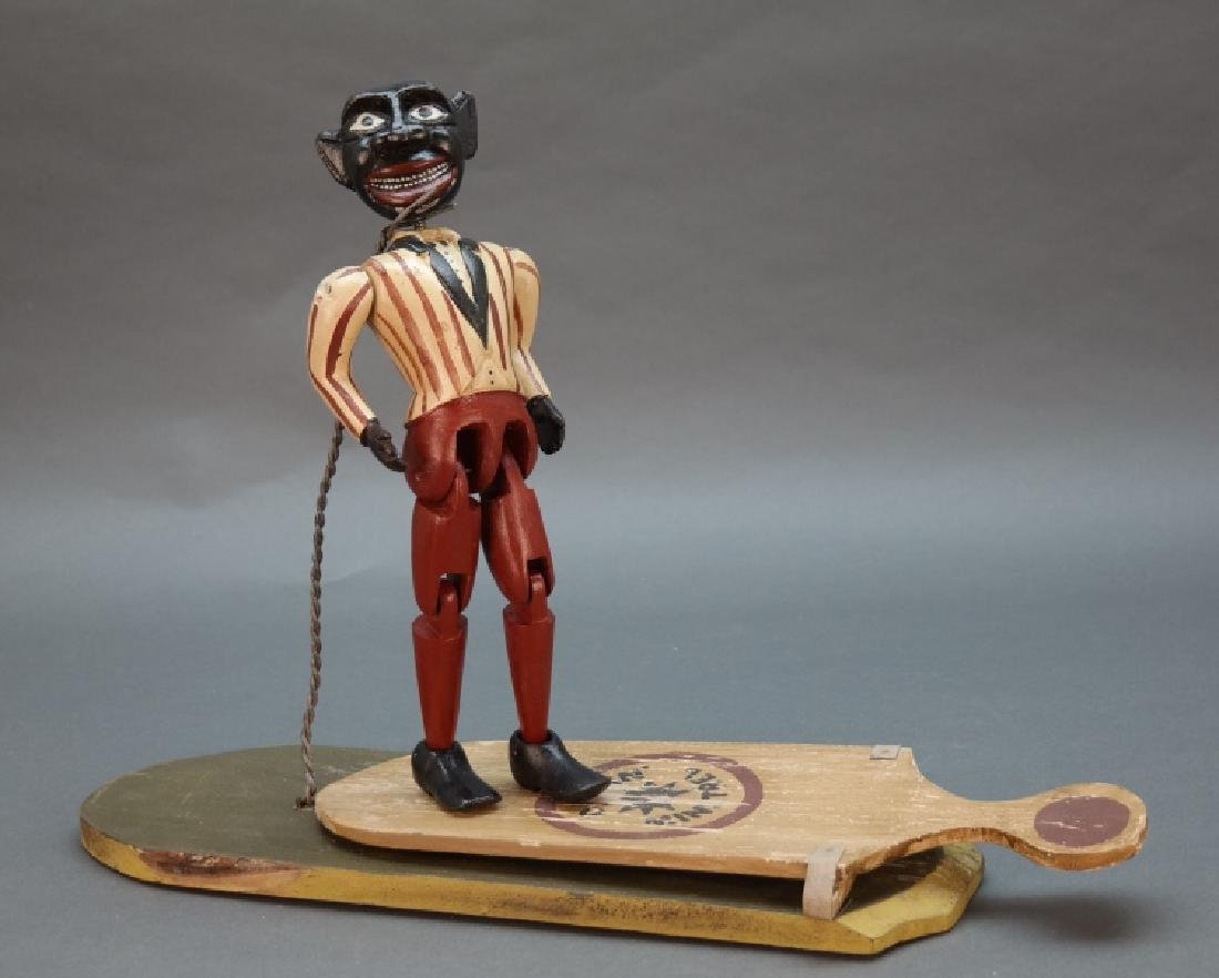 "4 Toys: Dancin' Minstrel, ""Bo Jangle"" Dances, etc"