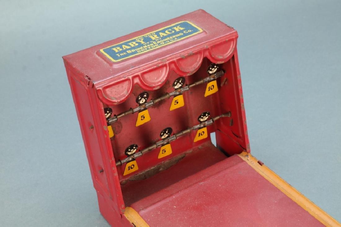Baby Rack, (Target shoot toy) Brinkman Engineering