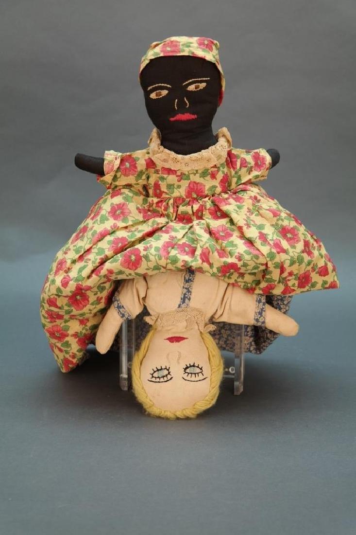 7 Black Americana dolls: Topsy turvy, walker, etc - 2
