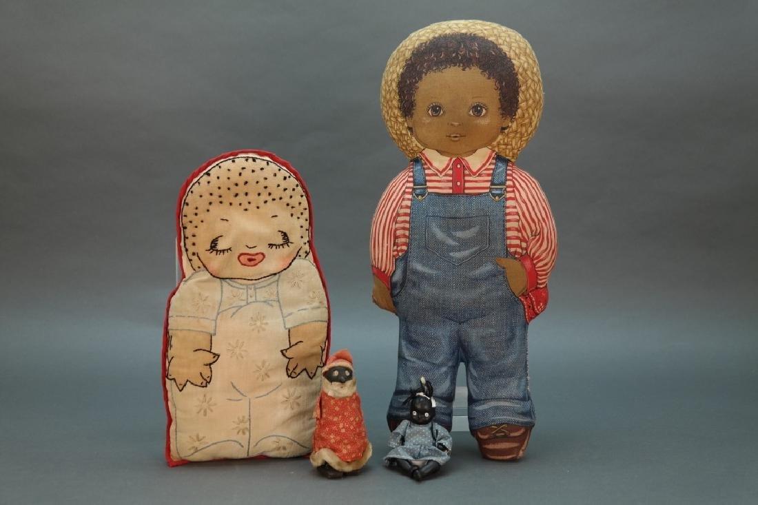 7 Black Americana dolls: Topsy turvy, walker, etc - 4