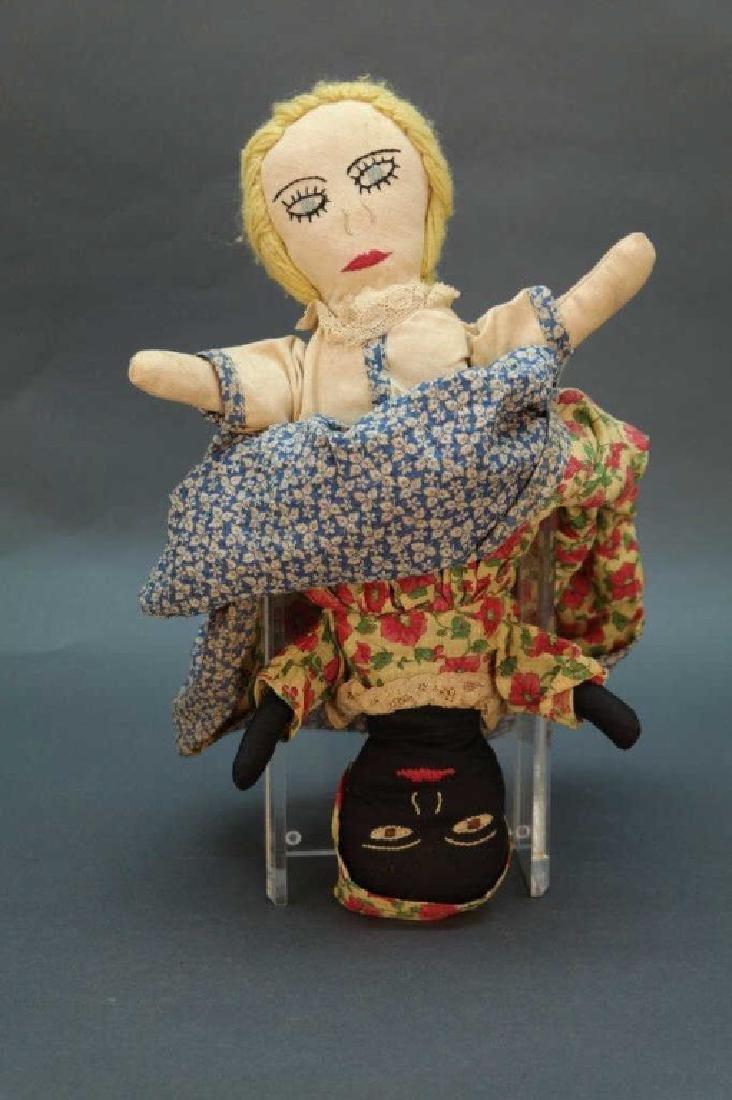 7 Black Americana dolls: Topsy turvy, walker, etc - 6