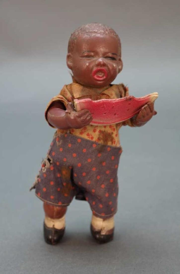 1930s Black Americana Wind Up Poor Pete doll