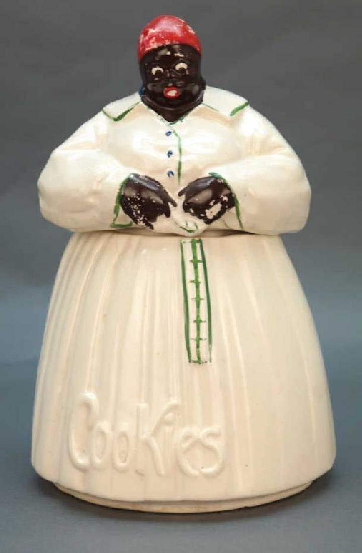 Black Americana McCoy 'Mammy' cookie jar
