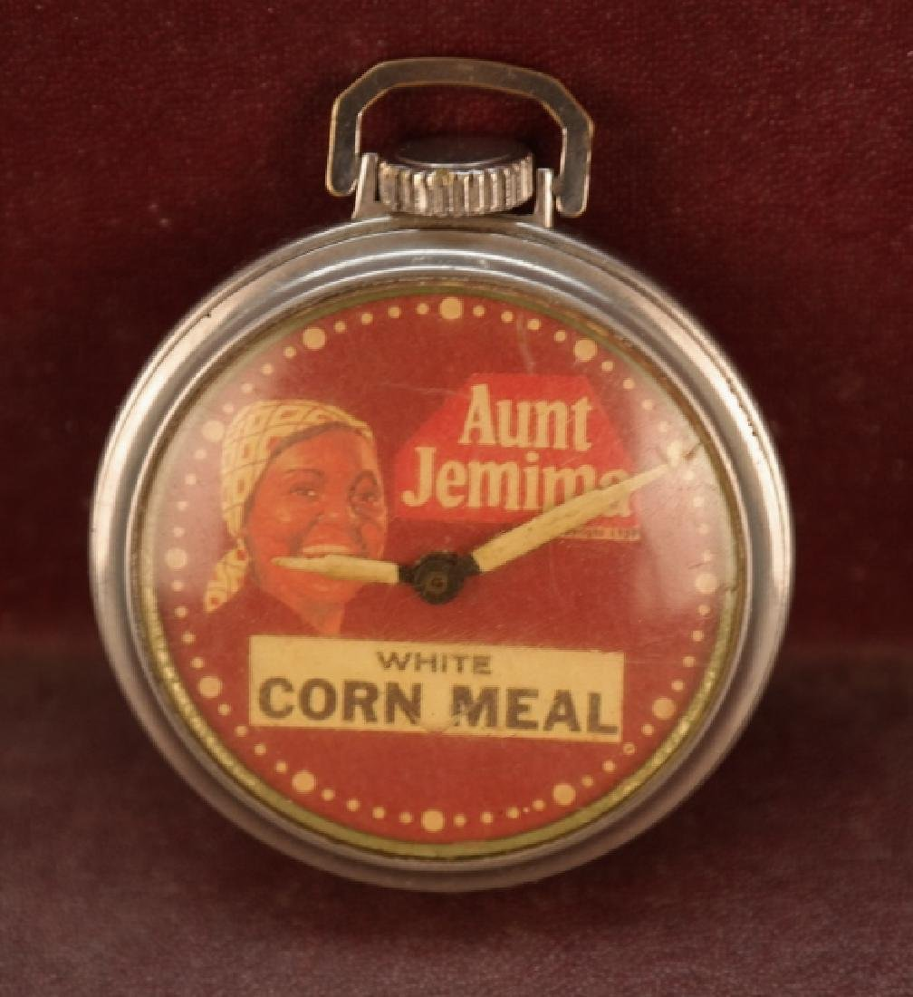 Pocket Watch-- Aunt Jemima: White Corn Meal (1939)