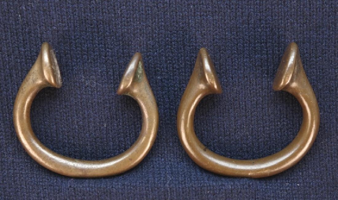 2 Nigerian Brass Manillas.