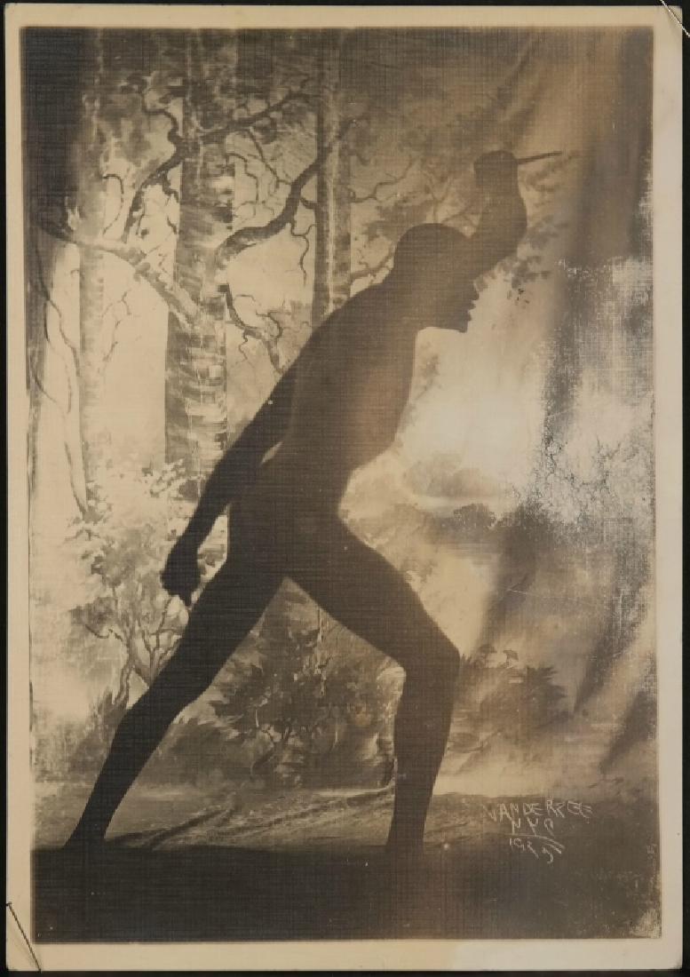 James Van Der Zee. Sepia photograph. 1925.