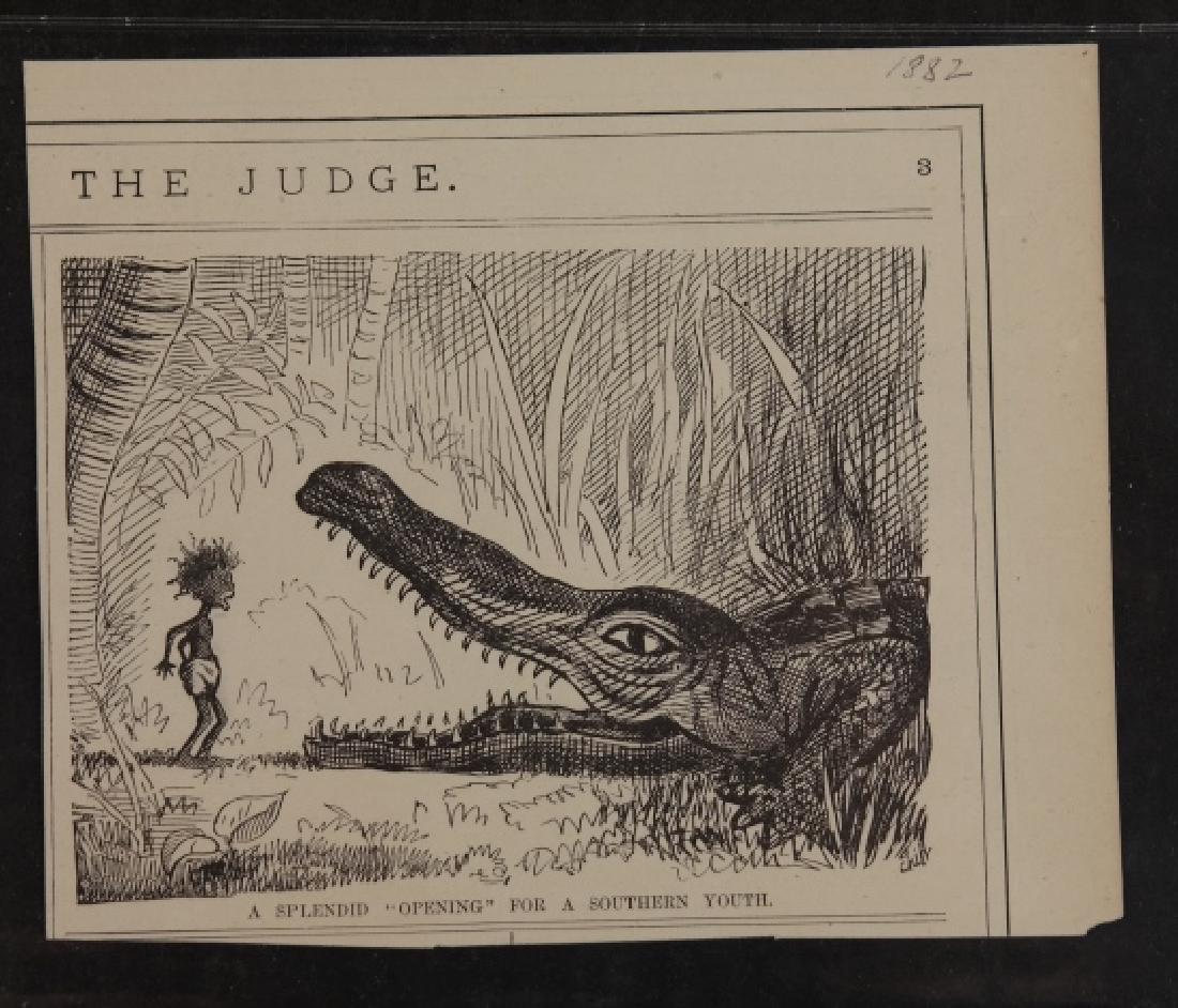 20 comics and cartoons: Black Americana c. 1880s