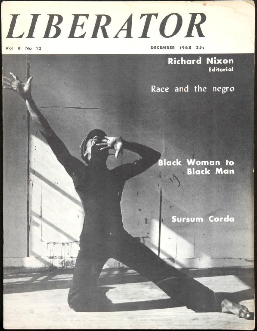 Liberator. 21 Magazine Issues, 1967-1971.