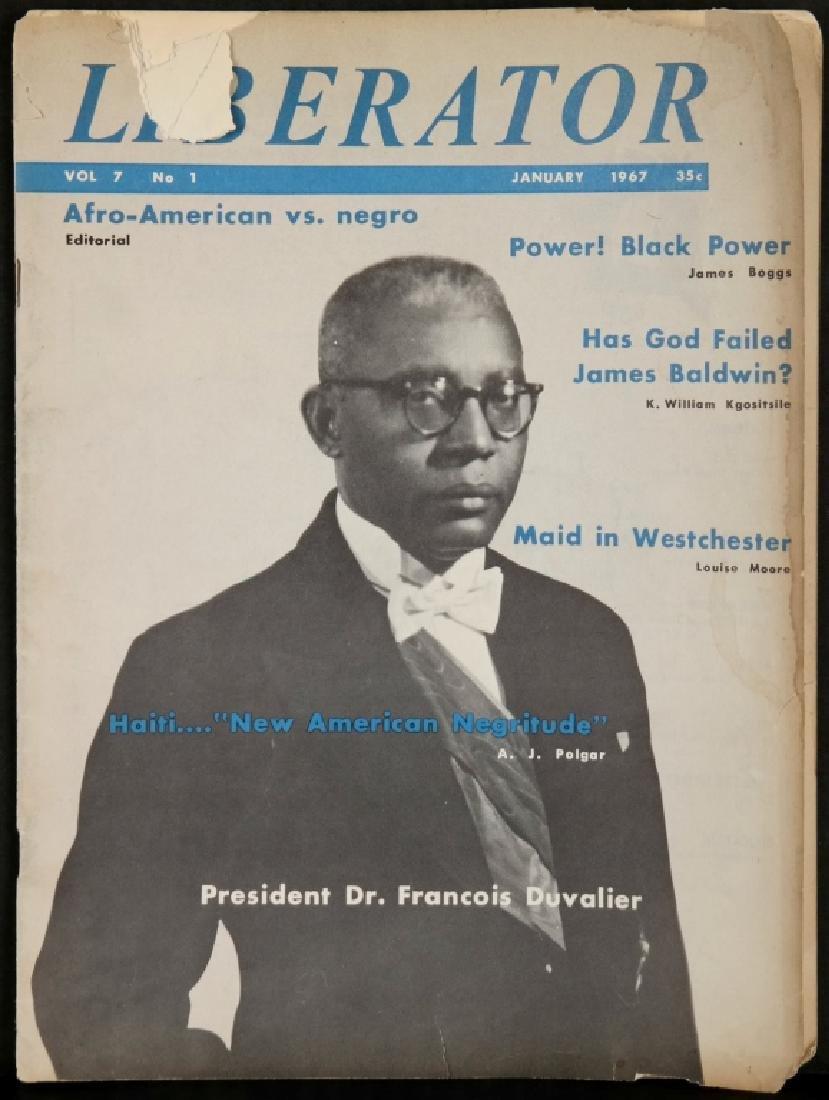 Liberator. 21 Magazine Issues, 1967-1971. - 2