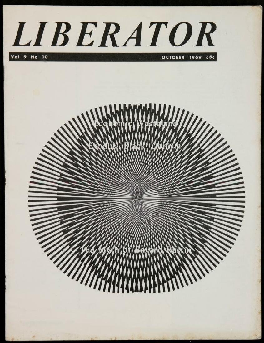 Liberator. 21 Magazine Issues, 1967-1971. - 3