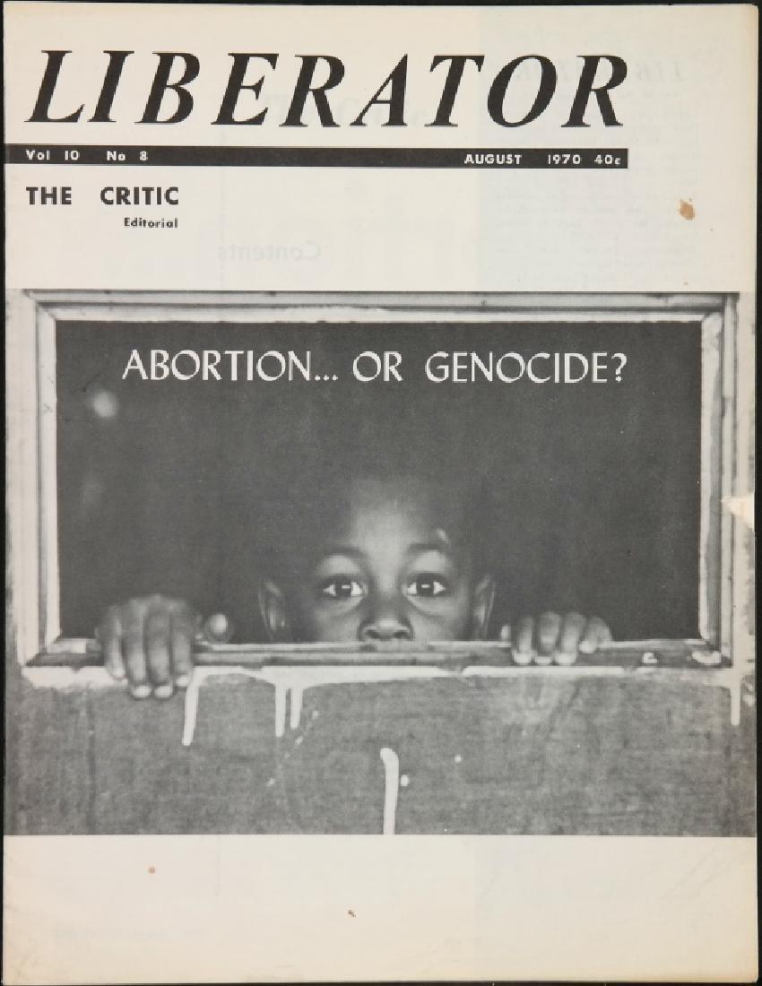 Liberator. 21 Magazine Issues, 1967-1971. - 4