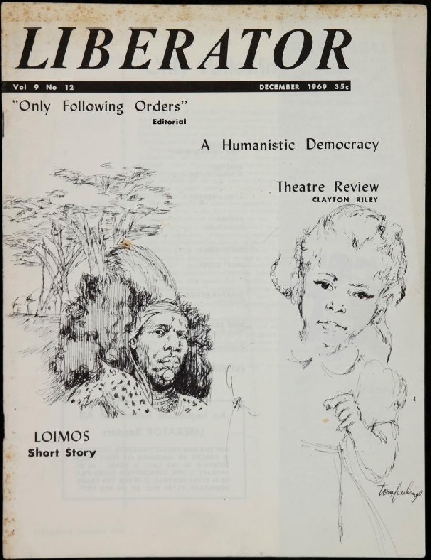 Liberator. 21 Magazine Issues, 1967-1971. - 5
