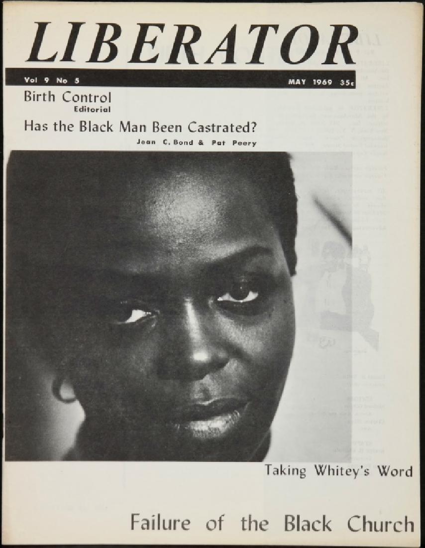 Liberator. 21 Magazine Issues, 1967-1971. - 7