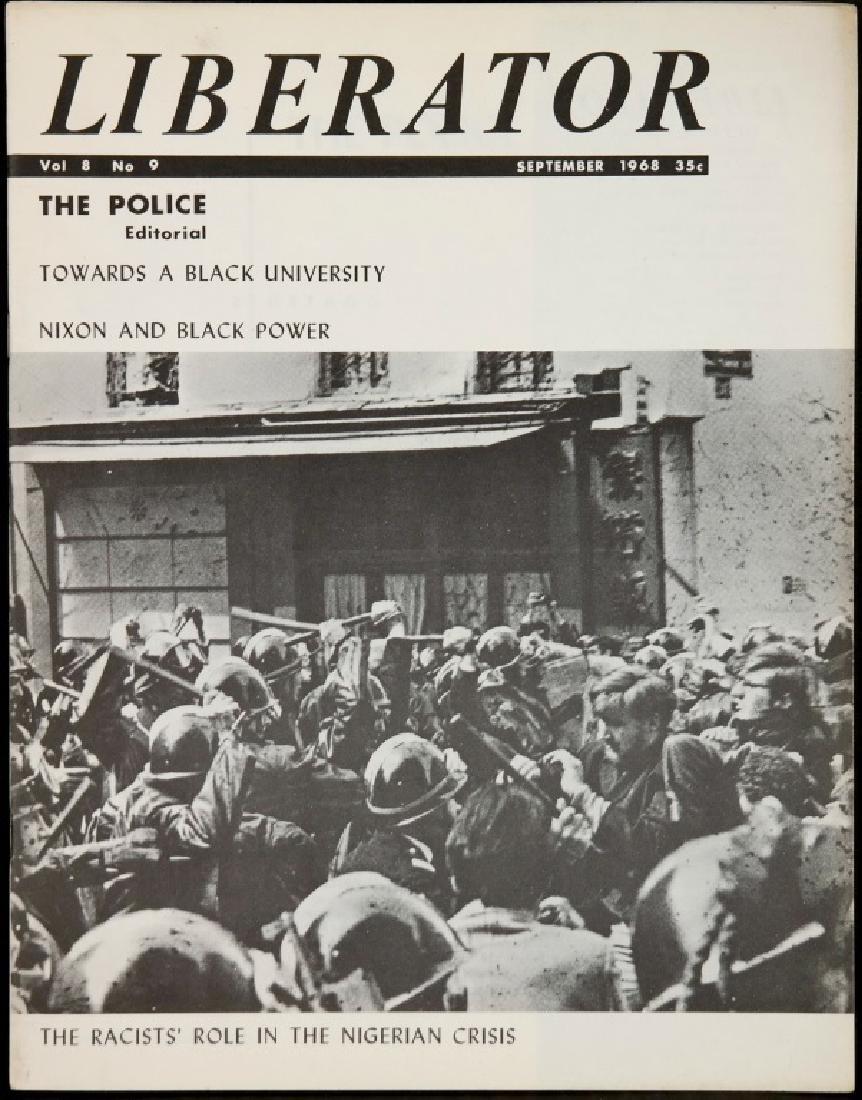 Liberator. 21 Magazine Issues, 1967-1971. - 8