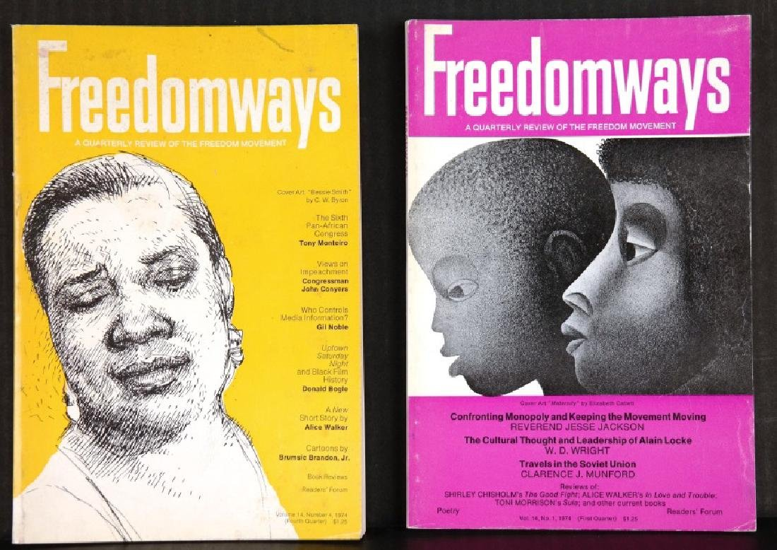 16 Magazines: The Black Scholar, Freedomways...