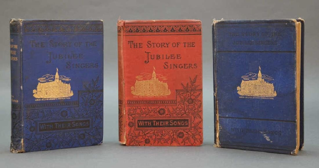 3 editions: The Story Of The Jubilee Singers.