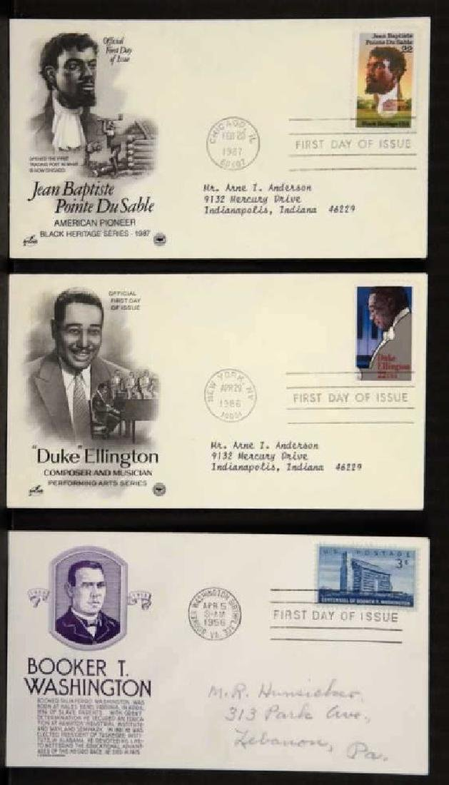 6 First Day Covers - George Washington Carver, etc